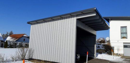 Carport Holzbau