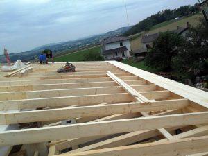 Hausbau Holz