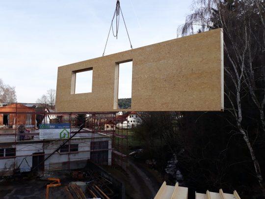Holzriegel Hausbau 2020