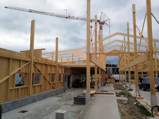 Stallbau Holz 2020